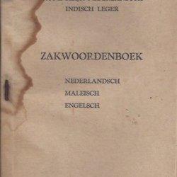 Koninklijk Nederlandsch Indisch Leger zakwoordenboek