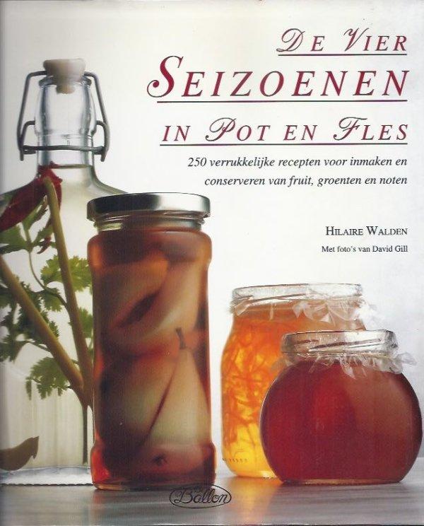 de vier seioenen in pot en fles